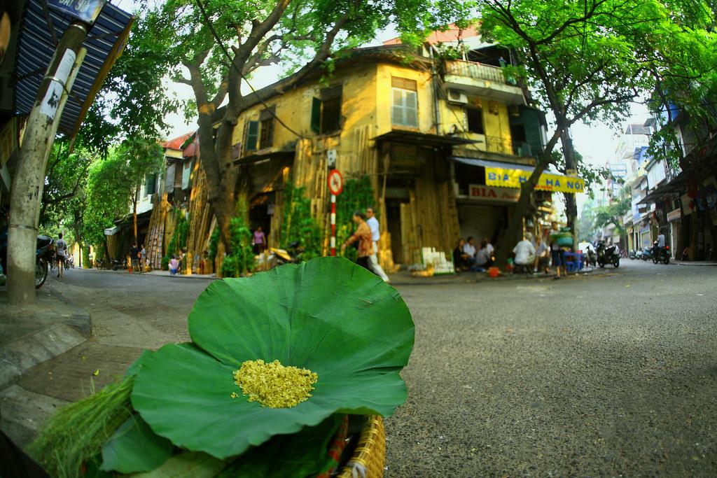 Ở Hà Nội hãy còn thơm hương Cốm