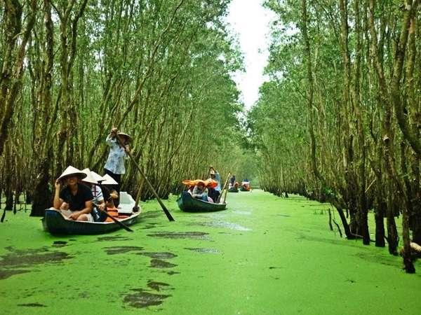 Chia sẻ kinh nghiệm đi du lịch làng nổi tân lập 2020