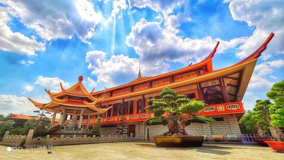 Thiền viện Trúc Lâm Chánh Giác – Tiểu Ấn Độ ở Tiền Giang