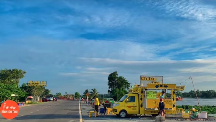 Check-in con đường xe kem Bình Dương – Đẹp như bản gốc Vũng Tàu