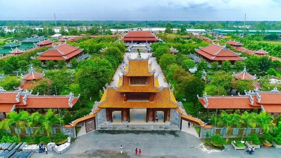 Khu dịch lịch văn hóa Phương Nam – Khu thánh địa sống ảo tại Đồng Tháp