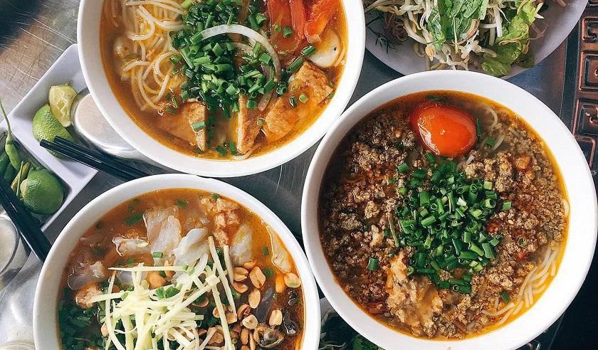 Bún Thùy nằm trong top các quán ăn ngon ở Quy Nhơn được yêu thích nhất